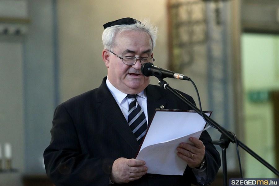 Lednitzky András, a szegedi zsidó hitközség elnöke