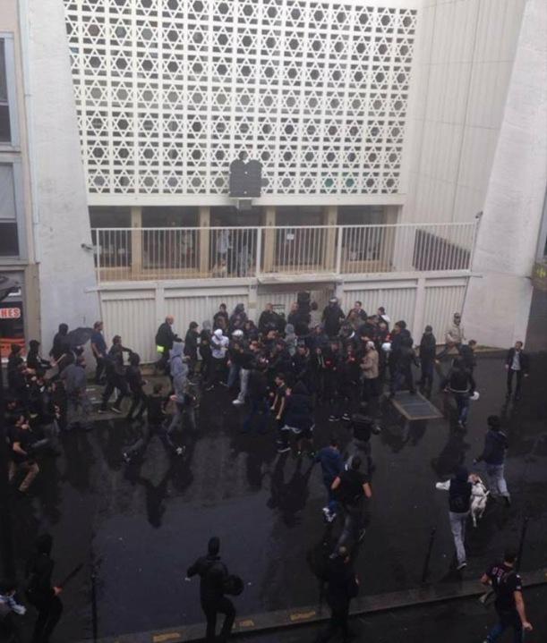 Párizs antiszemita támadás