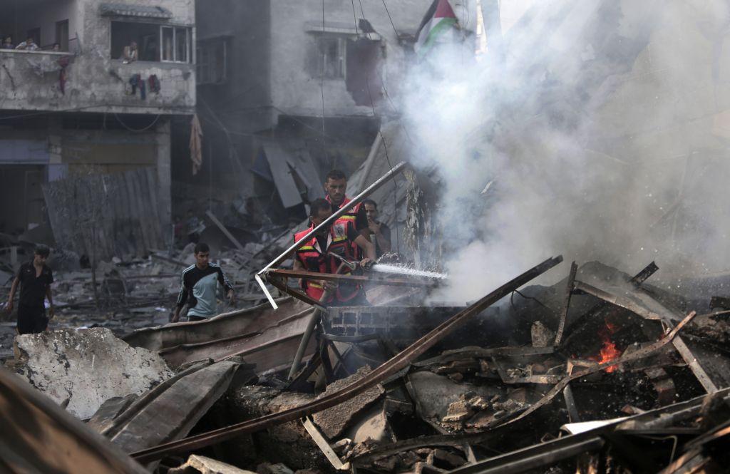 Gázai romok