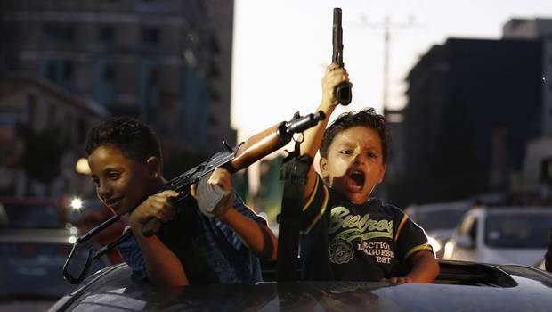 Palesztin gyerekek Suhaib Salem Reuters
