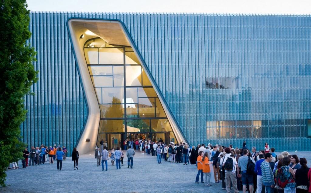 Varsói Zsidó Múzeum (forrás jewish-heritage-europe.eu)