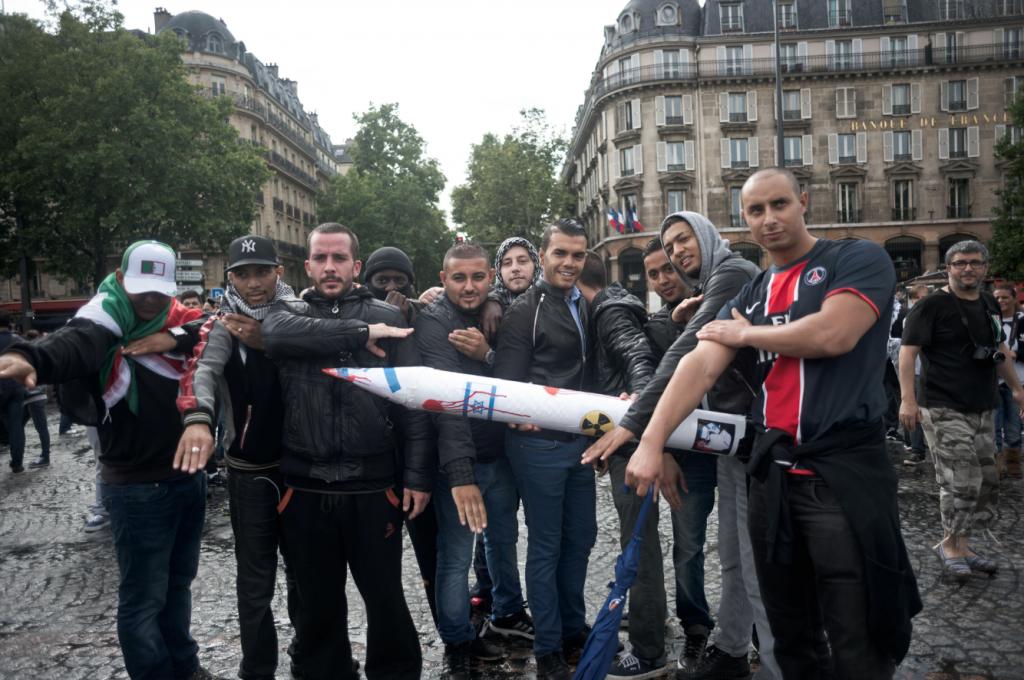 1 - Palesztin-párti tüntetők Párizsban