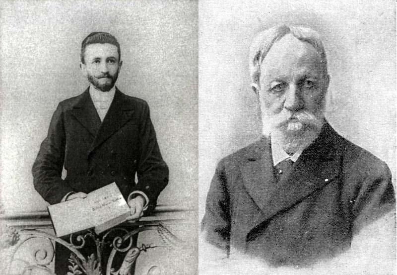 Bernstein Béla és Jókai Mór
