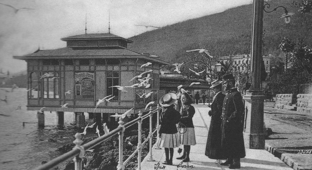 7 - Abbazia_Slatina-Promenade_1900 körül