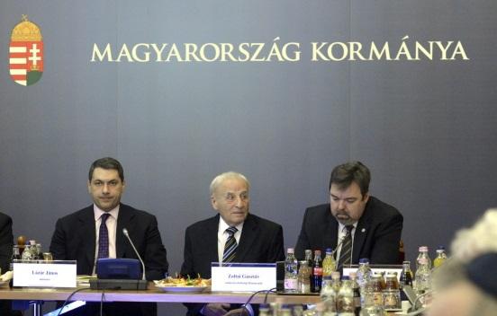 Takács Szabolcs Ferenc; Zoltai Gusztáv; L. Simon László; Latorcai Csaba; Lázár János