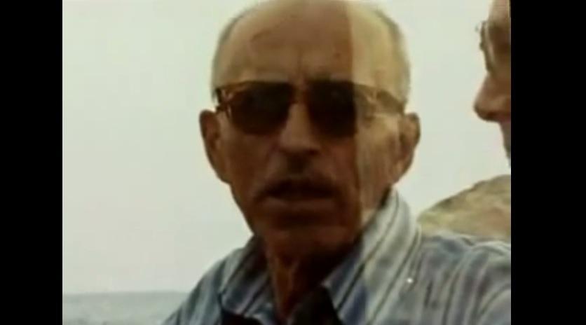 Alois Brunner idősebb korába. )Forrás: youtube)