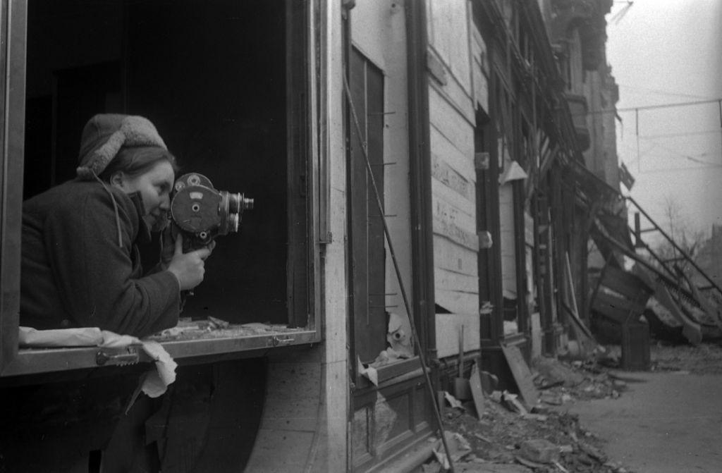 Ottilia Reizman , Budapest, 1944 u00A9 RGAK