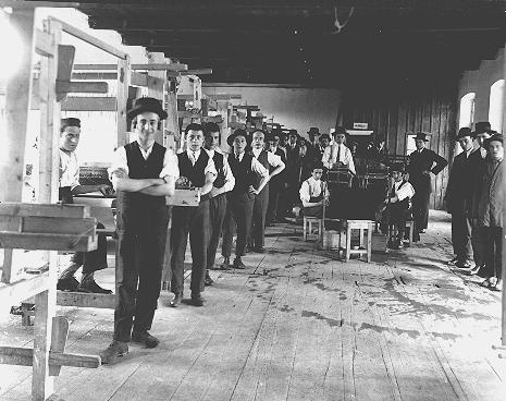 3 - Máramarossziget - ipari tanulók a háború előtt