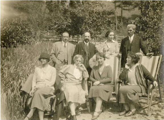 5 - Garami Ernő és Vámbéry Rusztem társaságban, 1925–1930 MNM