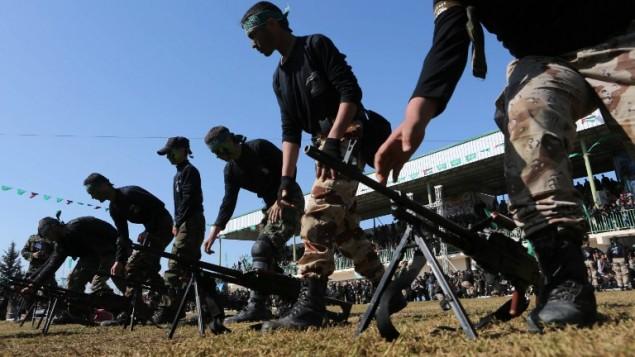 Hamasz kiképző tábor