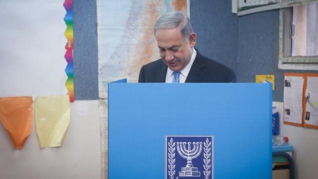 Izr vál Netanjahu