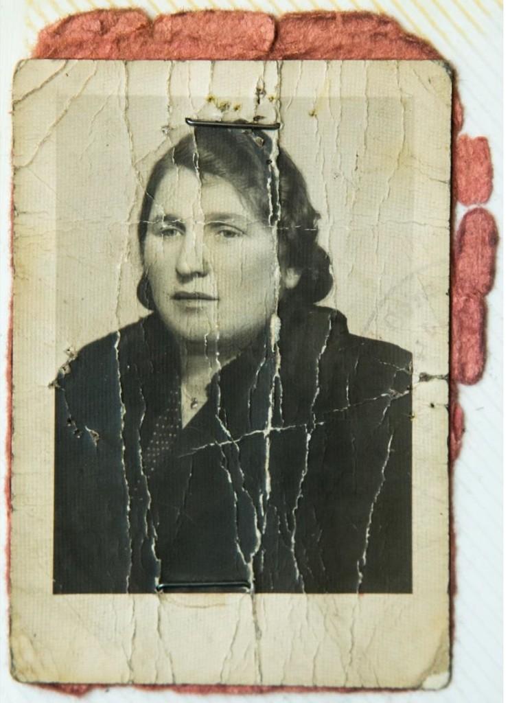 2 - Éliásné, Willig Eszti igazolványképe, 40-es évek Családi archív