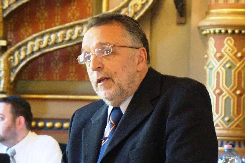 Heisler András a közgyűlésen