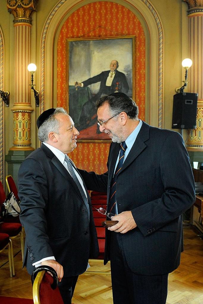 Horovitz Tamás és Heisler András fotó Reviczky Zsolt Népszabadság