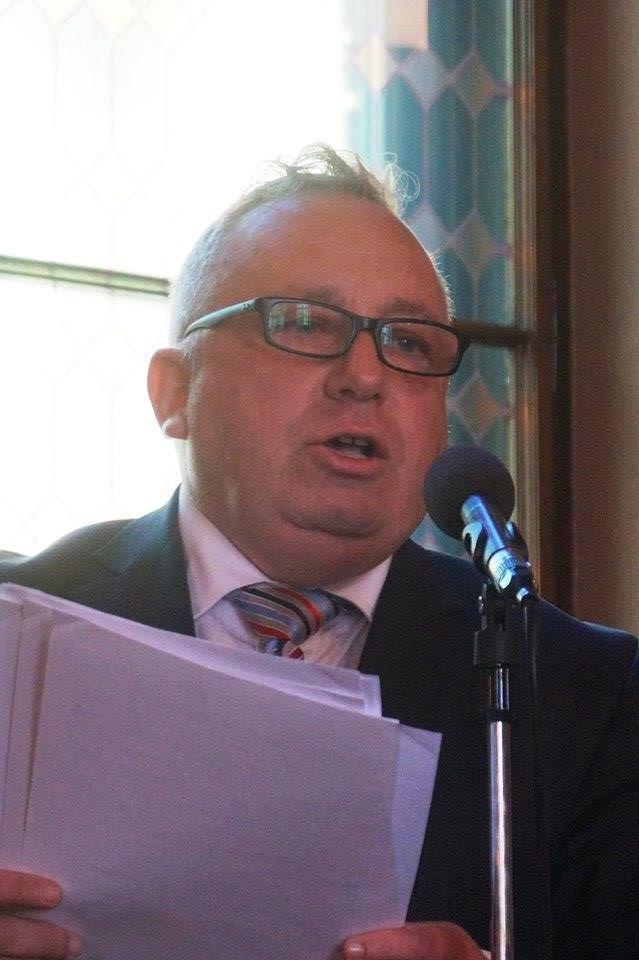 Horovitz Tamás közgyűlésen