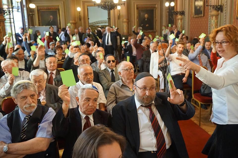 Mazsihisz közgyűlés, 2015. május 10.