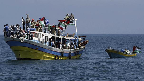 A tunéziai ex-elnök is a gázai flottával tart
