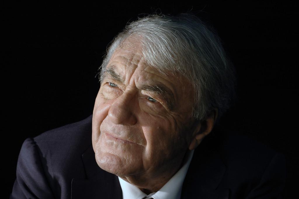 Author Claude Lanzmann. Photo credit: Helie Gallimard 25lanzmann