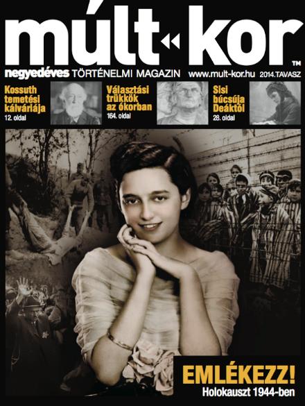 4 - A Múlt-kor Holokauszt emlékszámának címlapja
