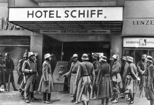 7 - 2 1934 Polgárháborús állapotok Ausztriában