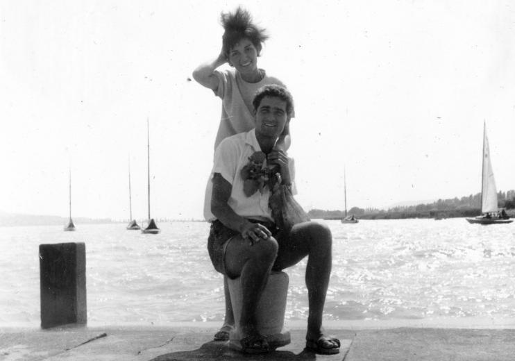 7 - Balatonfüredi életkép 1965