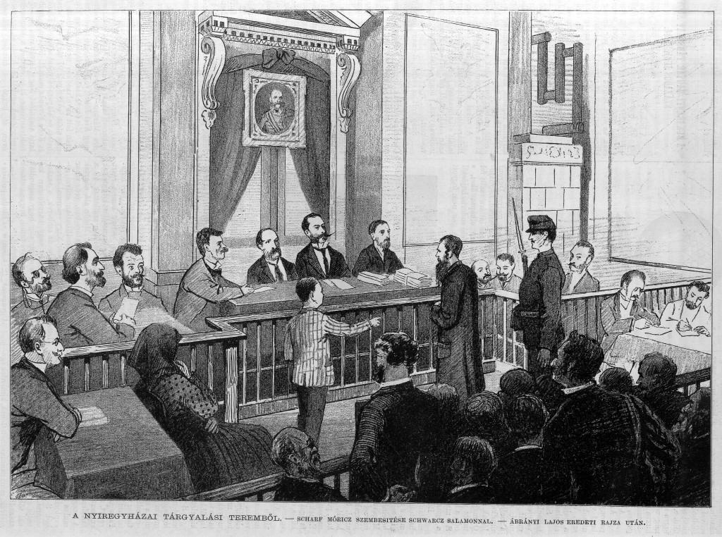 8 - A tiszaeszlári per tárgyalása