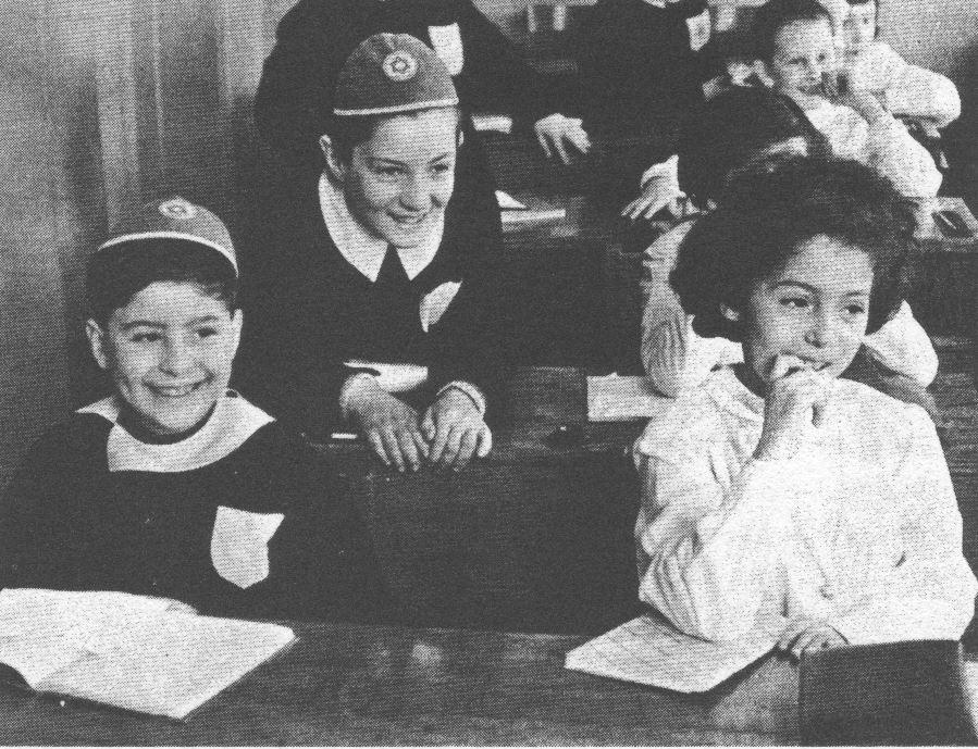 Olasz zsidó iskola a háború után