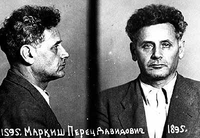 Perec Markis letartóztatáskor készült fényképe