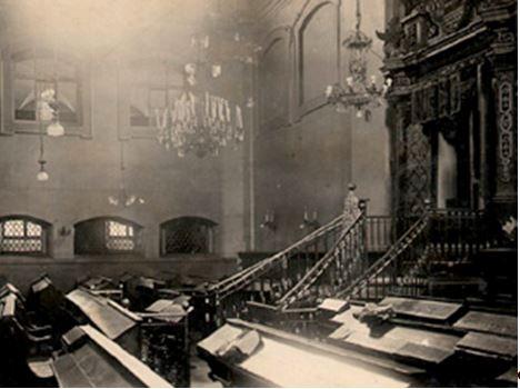 Vilna zsinagóga belső tér