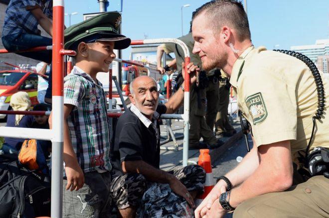 német rendőr