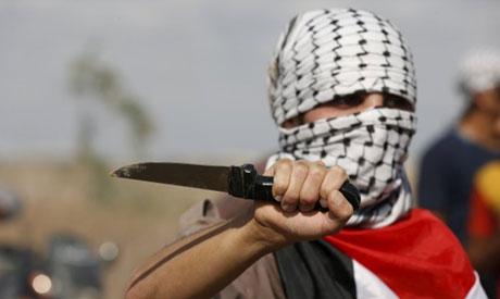 palesztin késes