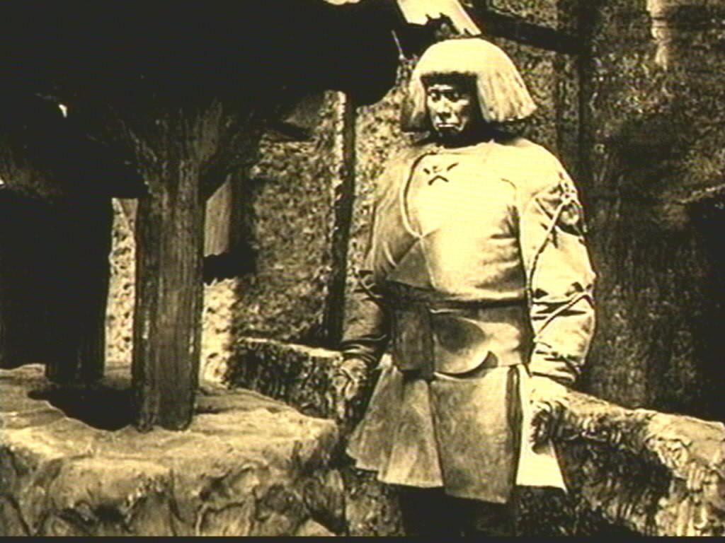 11 - A Gólem. Részlet egy 1920-ban készült filmből