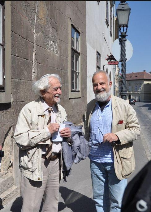 2 - Yossy Ben-Nun és Deák Gábor a helyszínen