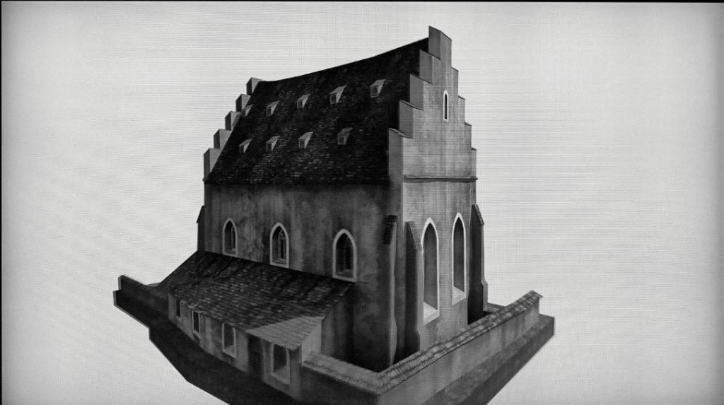 3 - A középkori zsinagóga rekonstrukciója