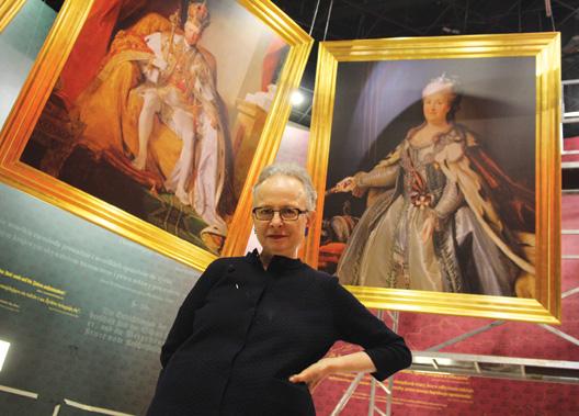5 - Barbara Kirshenblatt-Gimblett, a Lengyelországot felosztó idegen uralkodók portréi előtt