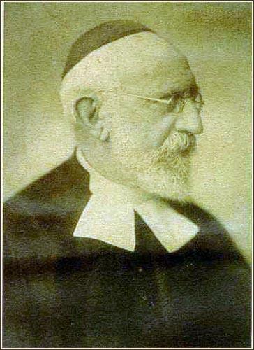 Löw Immánuel szegedi neológ főrabbi, aki a Horthy-korban a Parlament felsőházában a neológ zsidókat képviselte