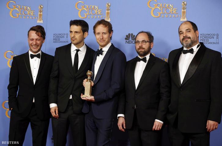 Golden Globe - Lucy Nicholson, Reuters