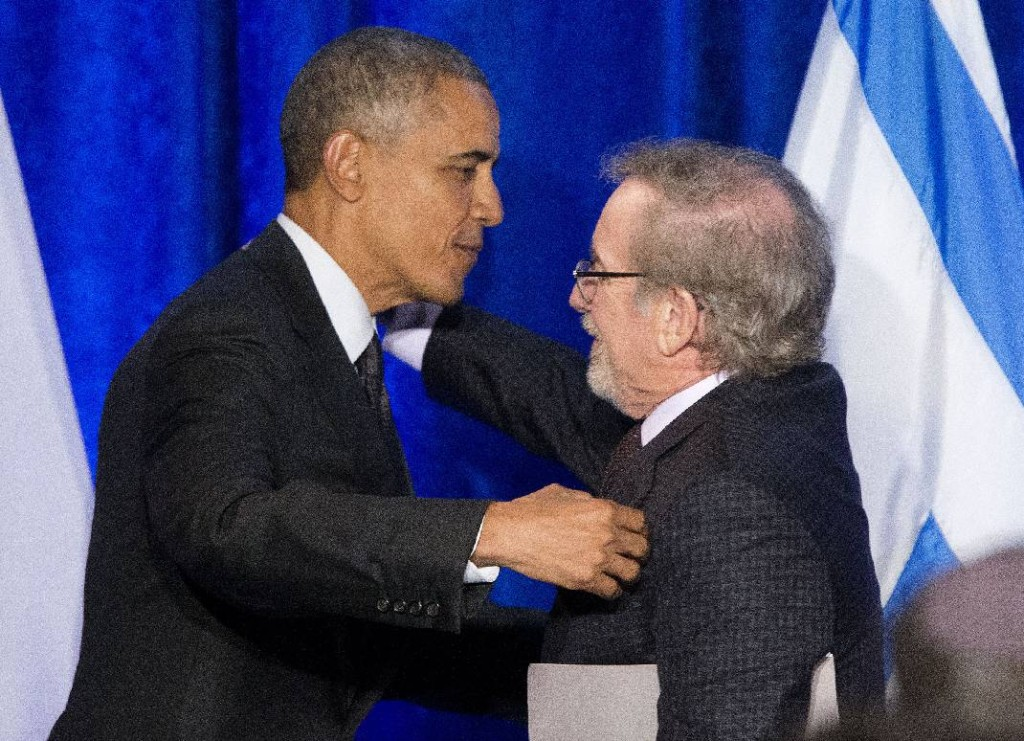 Obama Spielberg