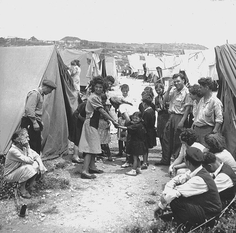 10 - Arab országból érkezett zsidó menekültek, 1950, Izrael
