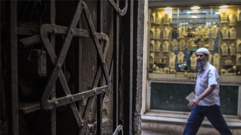 10 - Kairó egykori zsidó negyede ma