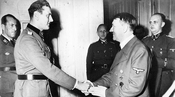 Skorzeny Hitler