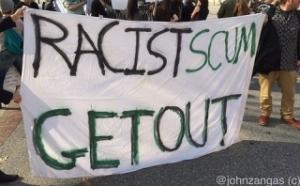 racist scum