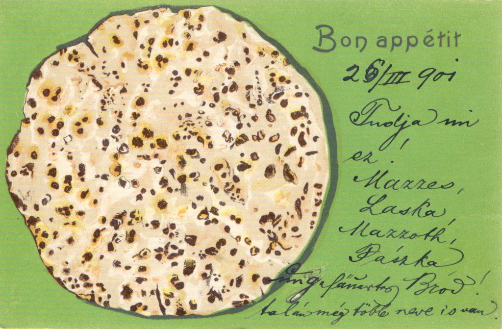 2 - Képeslap 1901-ből (Szántó András gyűjteményéből)