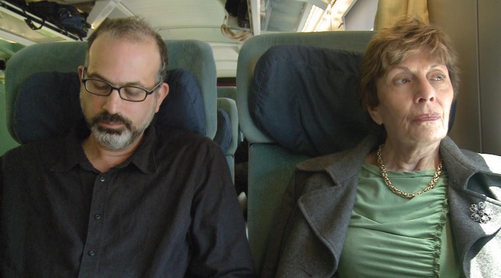 A rendező és édeasanyja