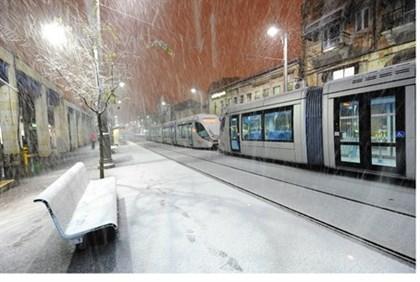 Jeruzsálem télen