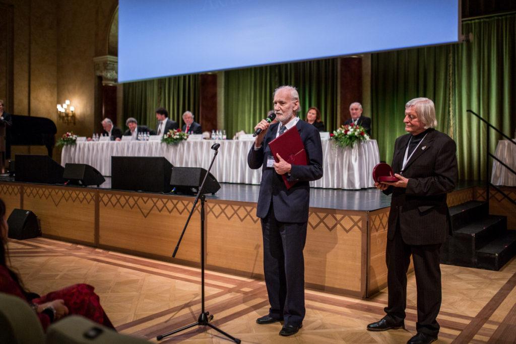 Pap Gábor az MMA közgyűlésén (Fotó: mma.hu