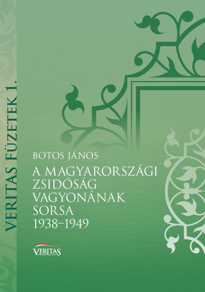 a-magyarországi-zsidóság...-Botos-János