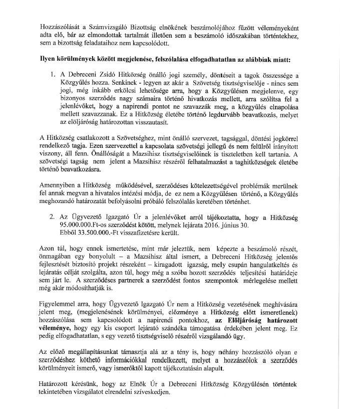 Horovitz levél 2