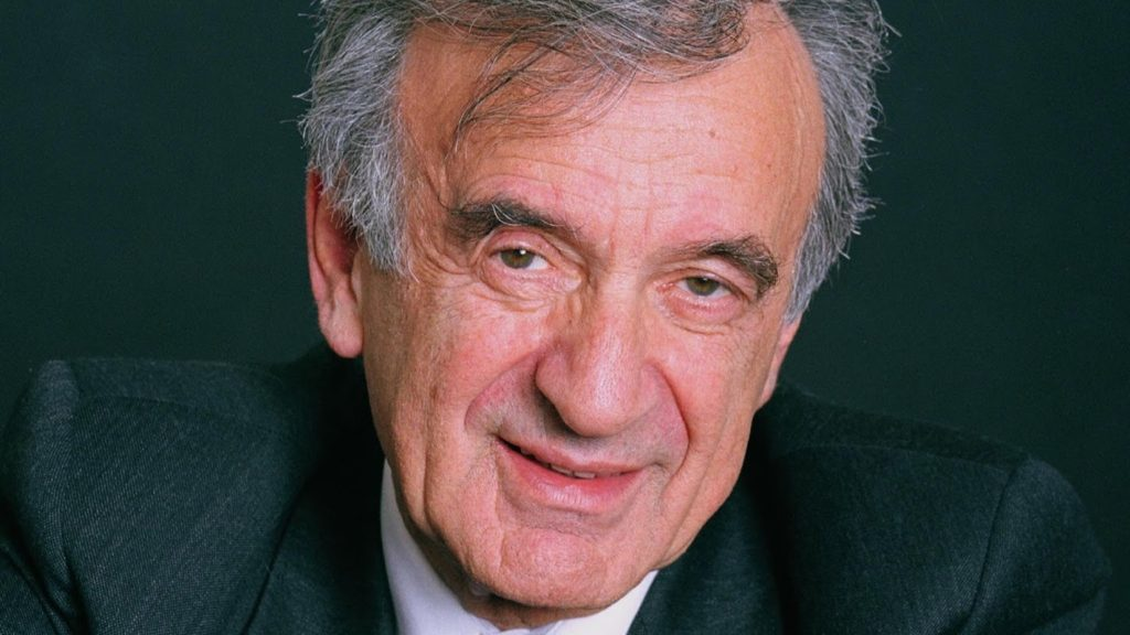 Portrait of Nobel Peace prize-winning author and activist Elie Wiesel, New York, New York, November 12, 2000. (Photo by Dan Porges/Getty Images)