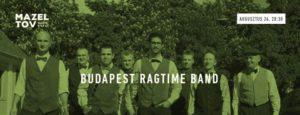 Budapest Ragtime Band augusztus 24. @ Mazel Tov        